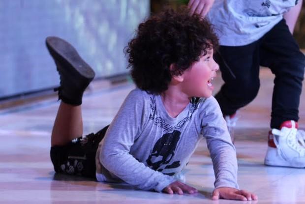 Bruno, filho de Dani Souza e Dentinho fez 4 anosd (Foto: Divulgação)