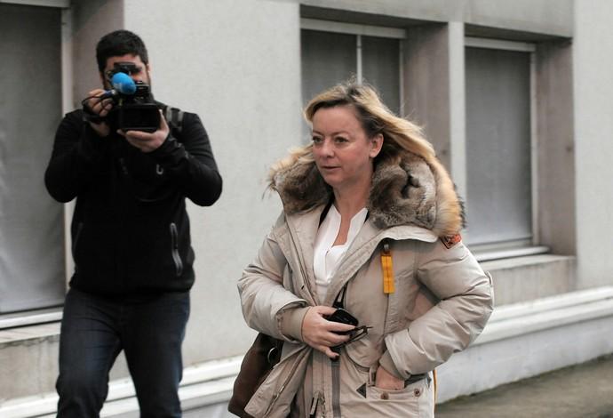Assessora de Michael Schumacher, Sabine Kehm (Foto: AFP)