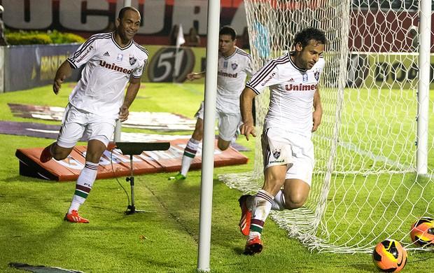 Fred gol jogo Fluminense e Vitória (Foto: Bruno Haddad / Fluminense. F.C.)