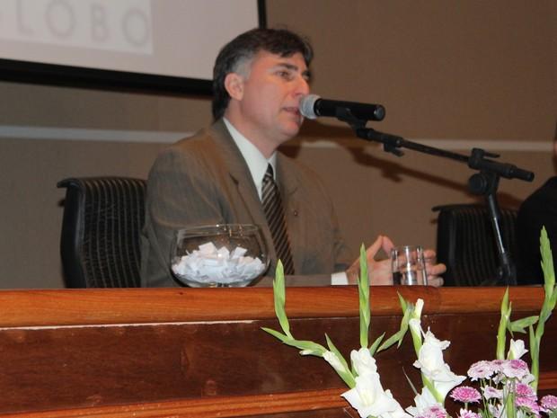 Paulo César Busato participou em Teresina do Congresso de Estudos Jurídicos (Foto: Patrícia Andrade/G1)