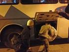 No frio, Prefeitura de SP usa ônibus para recolher morador de rua