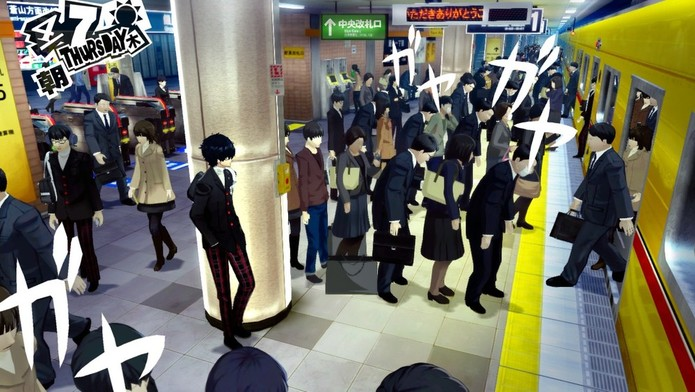 Persona 5 tem muito estilo! (Foto: Divulgação/Atlus)