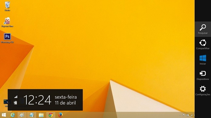 Abra o menu do Windows (Foto: Thiago Barros/Reprodução)