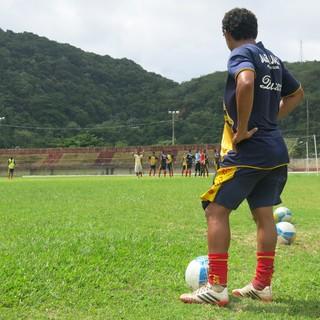 Treino Jabaquara (Foto: Antonio Marcos)