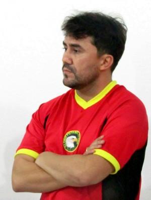 RN - Luizinho Lopes, técnico do Globo FC (Foto: Rhuan Carlos/Divulgação)