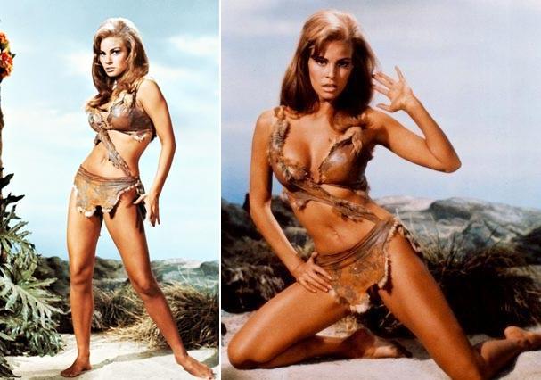 """A atriz exibe as curvas em 1966 no longa """"Um Milhão de Anos Antes de Cristo"""" (Foto: Reprodução)"""