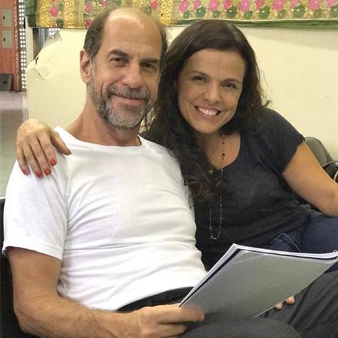 Marcella Muniz e Roberto Bomtempo (Foto: Arquivo pessoal)