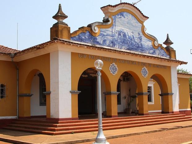 Campus da USP de Pirassununga (Foto: Marcos Santos/USP Imagens)