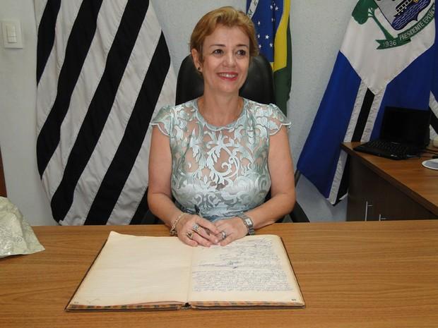 Cássia Furlan (Foto: Assessoria de Imprensa Prefeitura de Presidente Epitácio/Divulgação)