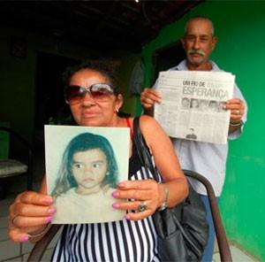 Lindalva e Geraldo ainda têm esperança de encontrar a filha Joseane  (Foto: Magnus Nascimento)