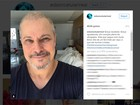 'Graça recebida', diz Edson Celulari sobre fim do tratamento contra câncer