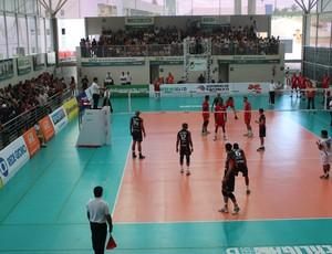 Monte Cristo x Atibaia Superliga B Goiânia (Foto: Fernando Vasconcelos)