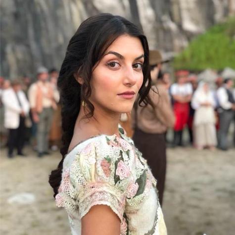 Anaju Dorigon em 'Orgulho e paixão' (Foto: Arquivo pessoal)