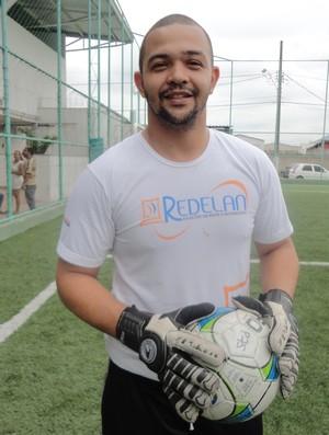 Anderson, goleiro do Ítalo (Foto: Richard Pinheiro)