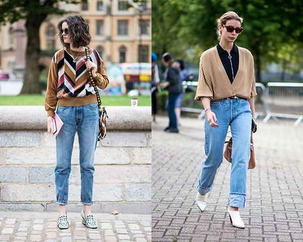 O mom jeans é um modelo confrotável e despojado (Foto: Imaxtree)