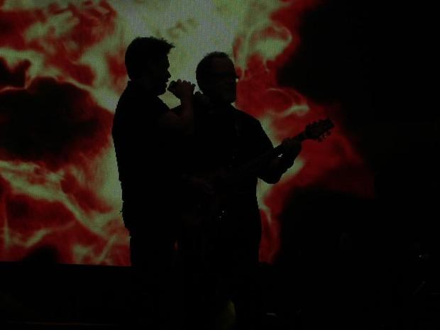 Dupla ainda faz show em Curitiba na sexta-feira (26). (Foto: Joka Madruga/G1)
