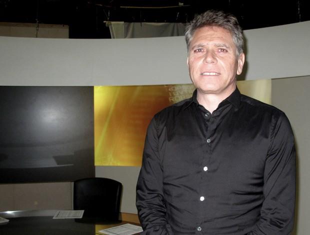 Paulo Autuori foi o convidado desta sexta do 'Redação SporTV' (Foto: SPORTV.COM)
