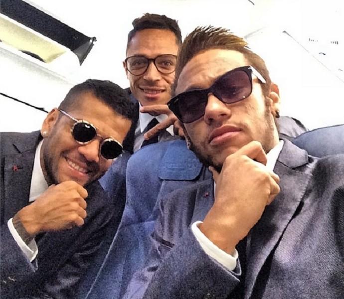 Neymar viagem Madri (Foto: Reprodução/Instagram)