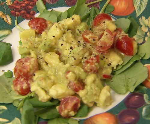 Jogo de Panelas 20 -  Cerratense (Salada de Abacate e Tomate-cereja)