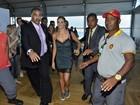 Famosos vão ao terceiro dia de desfiles do Fashion Rio, na Marina da Glória