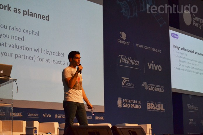 Talmon Marco, CEO do Viber, fala do mensageiro e planos para o Brasil (Foto: Melissa Cruz/TechTudo)