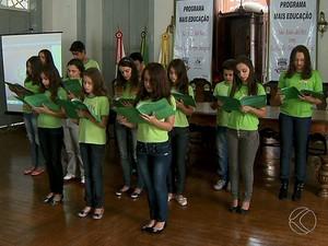 São João Del Rei mais educação (Foto: Reprodução/TV Integração)