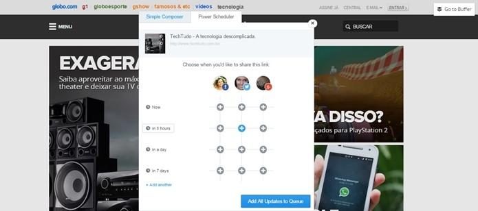 Extensão para Chrome permite editar posts rapidamente (Foto: Reprodução/Raquel Freire)