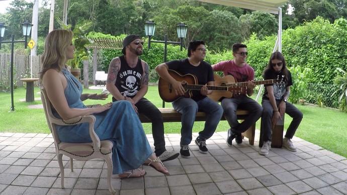 A música fica por conta da banda Alma Truque (Foto: Foto: Reprodução /TV Diário)