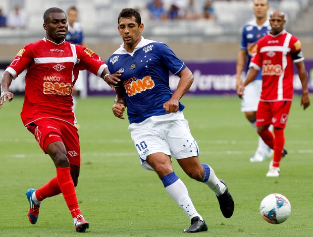 Diego Souza, atacante do Cruzeiro (Foto: Washington Alves / Vipcomm)