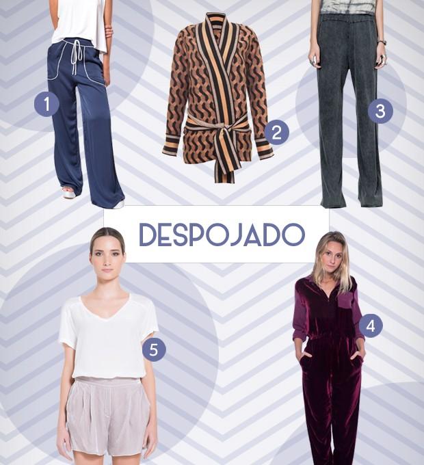 Pijamas - Despojado (Foto: Reproduo)