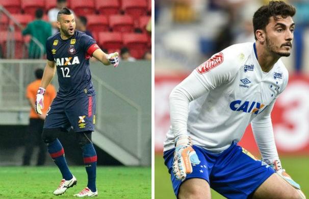 Atlético-PR recebe o Cruzeiro na Arena da Baixada (Foto: montagem/GE)