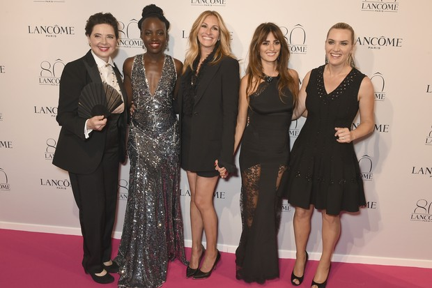 Isabella Rossellini, Lupita Nyong'o, Julia Roberts, Penelope Cruz e Kate Winslet  (Foto: Getty Images)