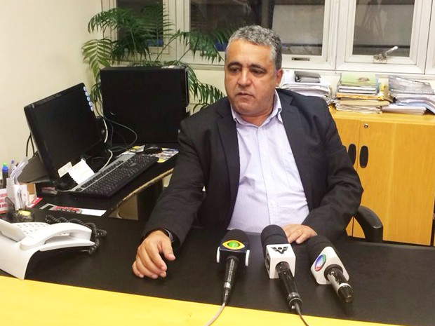 Vereador Wagner Moura assume Prefeitura de Cubatão, SP (Foto: Solange Freitas/G1)