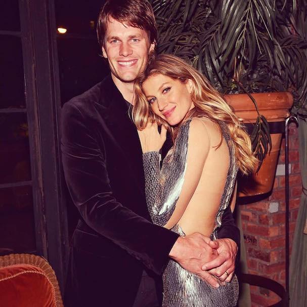 Gisele e Tom Brady (Foto: Reprodução Instagram)