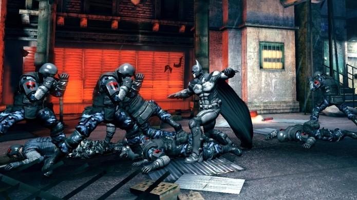 Blackgate traz de volta o famoso sistema de combate da série Arkham (Foto: GearNuke)