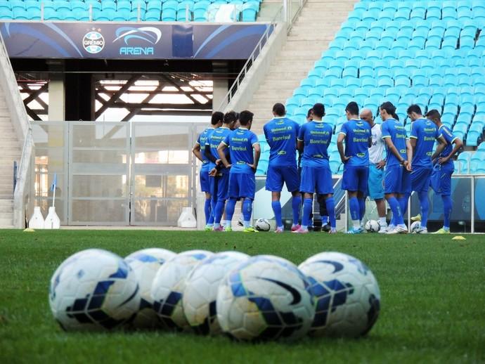 grêmio treino arena (Foto: Eduardo Deconto/GloboEsporte.com)