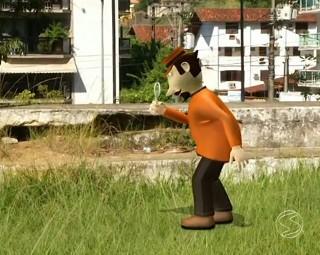 Zé do Bairro em Angra dos Reis (Foto: RJTV 1ª Edição)