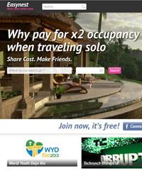 Site Easynest (Foto: Reprodução/easynest.com)