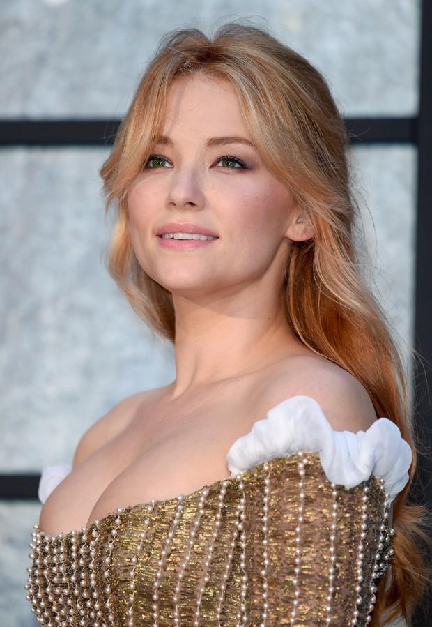 Haley Bennett em première de filme em Londres, na Inglaterra (Foto: Karwai Tang/ Getty Images)