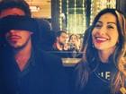 Sabrina Sato posta foto descontraída com namorado e casal de atores