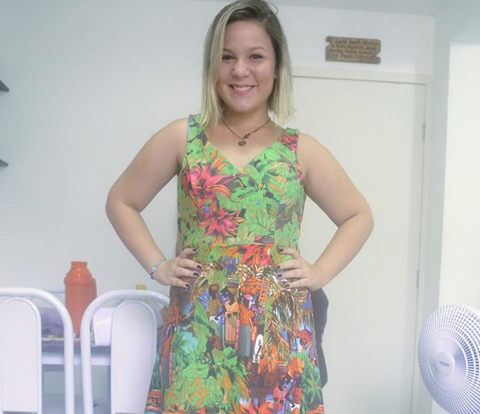 A participante do BBB16 Maria Claudia é youtuber (Foto: João Mello/Gshow)