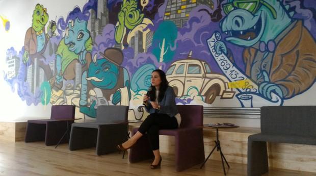 Cristiane Junqueira, cofundadora do Nubank (Foto: Filipe Oliveira)