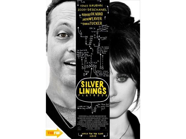 Montagem de 'O lado bom da vida' mostra casal que foi cotado pela trama: Vince Vaughan e Zooey Deschanel (Foto: Reprodução)