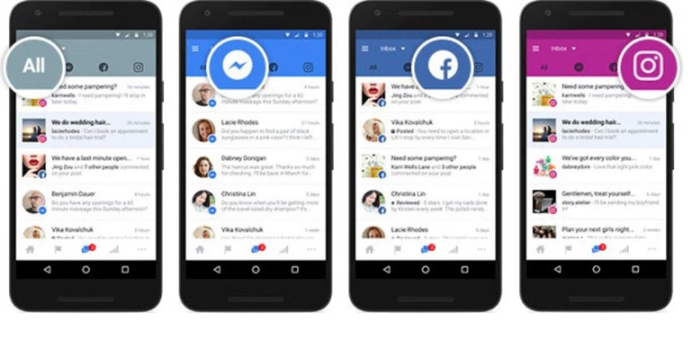 Facebook ganha caixa de entrada conectada (Foto: Divulgação/Facebook)