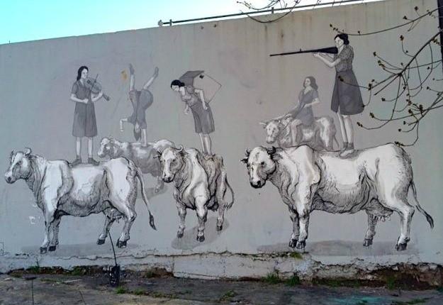 Arte de rua Buenos Aires (Foto: Reproduo/ 40 Forever)