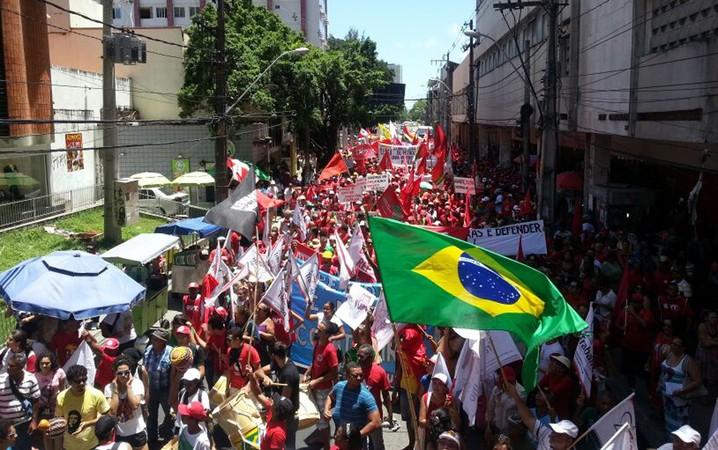 Manifestação no Recife