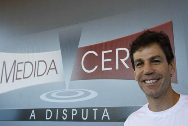 Márcio Atalla está no comandou das manhã de caminhada pelas 12 capitais. (Foto: Euricles Macedo)