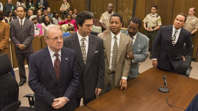 Cena de 'The People v. O.J. Simpson' (Foto: Divulgação)