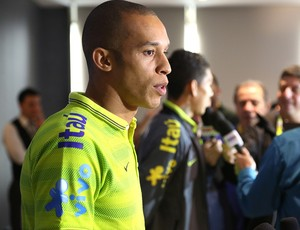 Miranda, Seleção Brasileira (Foto: Bruno Domingos / Mowa Press)
