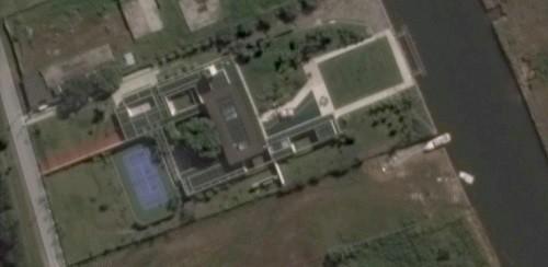 Vista aérea da casa do Neymar